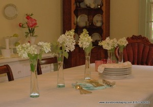 Bargain Tablescape