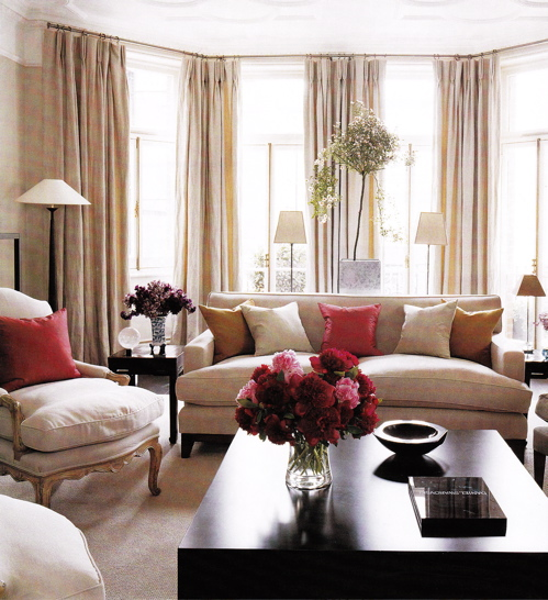 Pink Living Room Ideas: The Decorologist