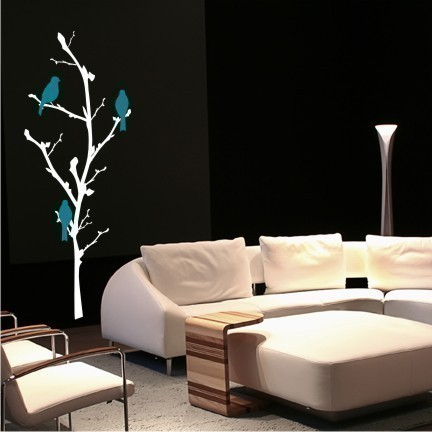 tree in modern room