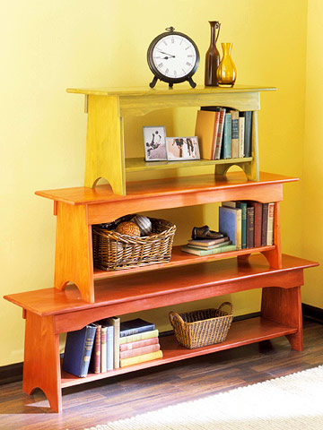 Better Homes and Garden Bench Bookcase