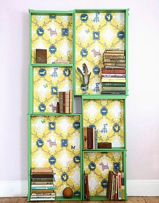 Country Living Dresser Drawer Bookcase