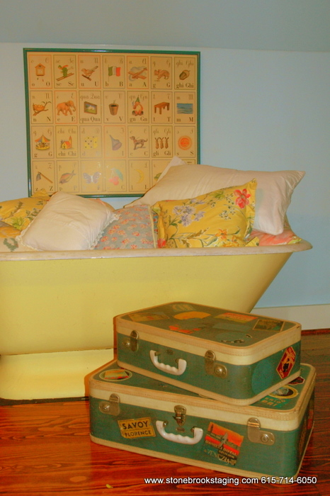 Vintage Luggage - Toy Storage