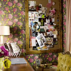 Feminine and Fun Office Spaces