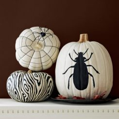 Easy-Peasy Ways to Decorate a Pumpkin