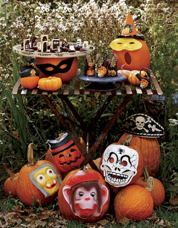 Easy peasy ways to decorate a pumpkin the decorologist for Creative halloween pumpkin decorating ideas