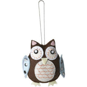 polyvore's owl christmas tree decoration