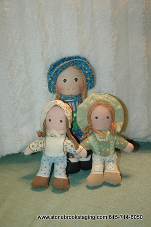 Vintage Holly Hobbie dolls