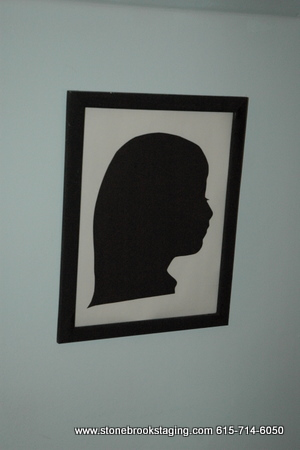 Silhouette Craft for birthday party