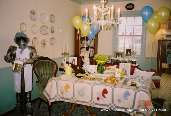 Little House Party - Tablescape