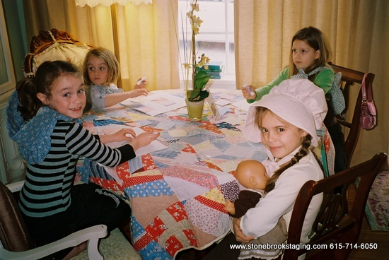 Little House Party Patchwork Craft