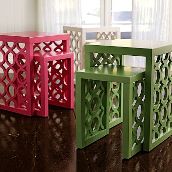 ... Circolo Stacking Tables From Pottery Barn Teen .