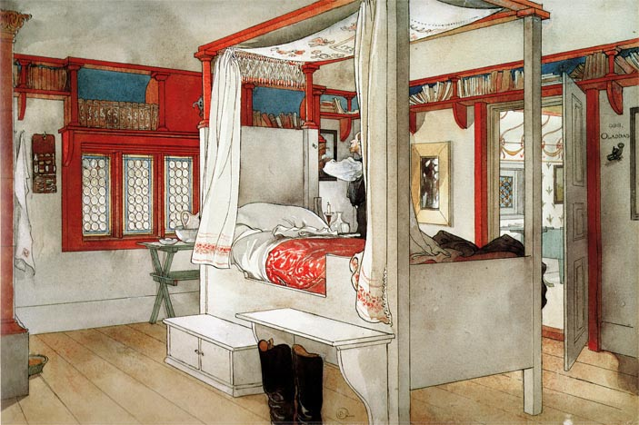 larrson's papa's bedroom