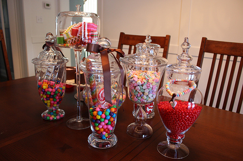 Candy Jars via flickr