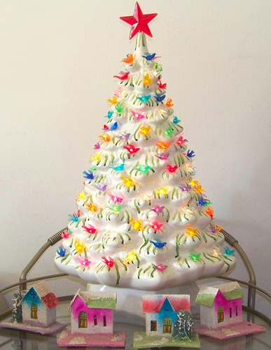 Ceramic Christmas Tree With Lights.Ceramic Christmas Trees The Decorologist
