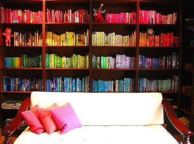 color coordinated books via dk-transformation