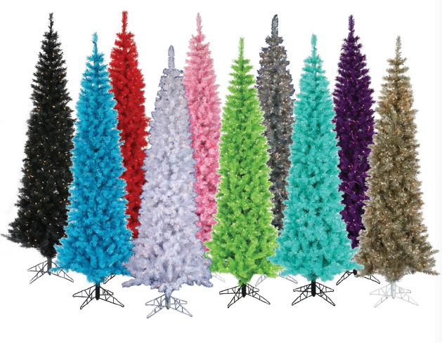 Nontraditional christmas color palettes the decorologist for Non traditional christmas tree ideas