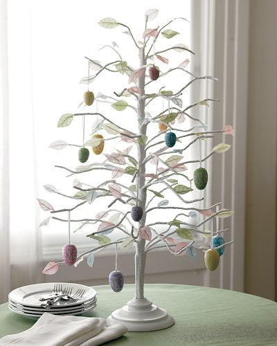 Easter egg trees the decorologist How to make an easter egg tree