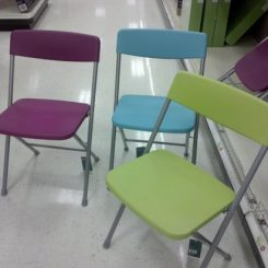 Fun Folding Chairs at Target