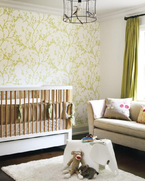 Gender neutral nurseries the decorologist for Modern unisex nursery ideas