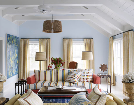 Living Room Paint Colors Blue how light affects paint colors - the decorologist