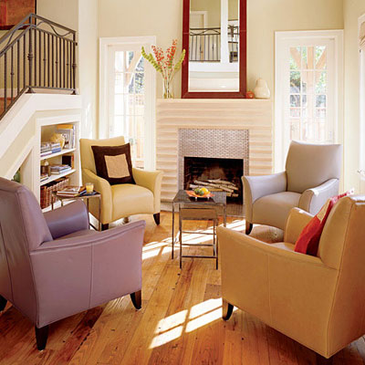 How light affects paint colors the decorologist - Choosing a sofa for a small living room ...