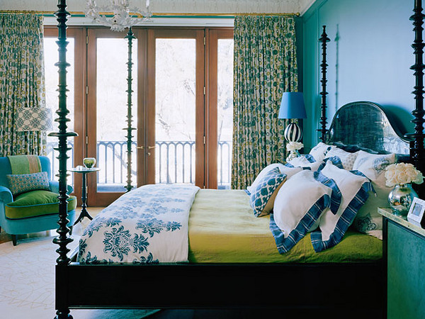 Interior Green And Blue Bedrooms obsessed with blue green the decorologist source