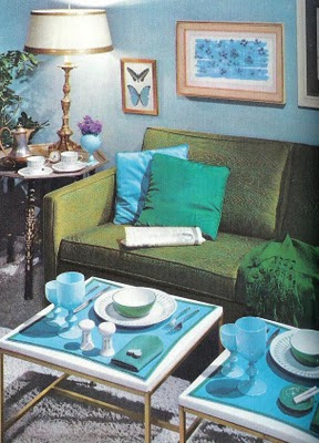 Mccalls Decorating Green Blue Living Room Via Funisinstyle Blo