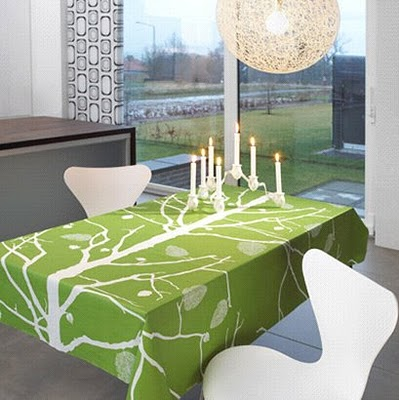 ... Oilcloth Tablecloth By Denmarku0027s Ferm Living: Via ...