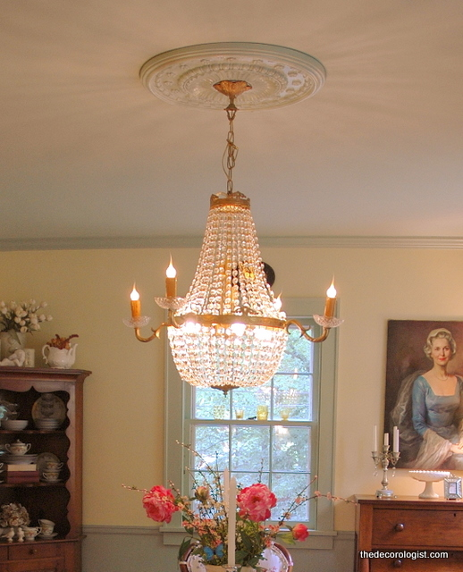 Superb My Dining Room Chandelier And Ceiling Medallion