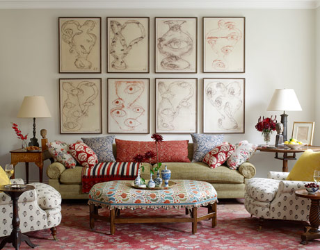 Why the decorologist says no to the sofa loveseat House beautiful living room makeovers