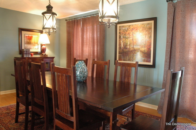 dining room by the decorologist