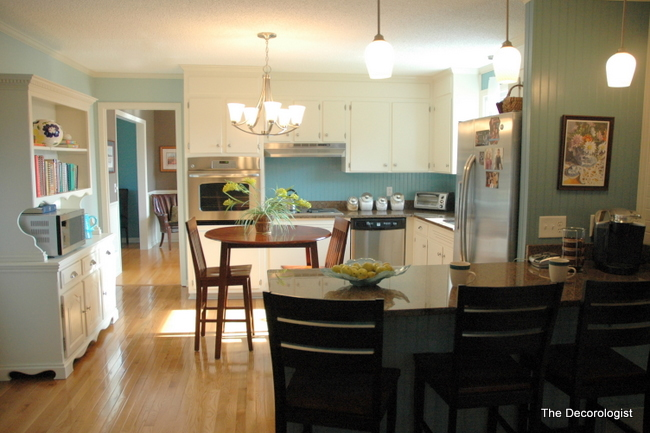 kitchen makeover by the decorologist