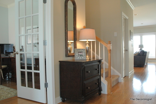 Tan Foyer Colors : Are your paint colors chopping up flow the