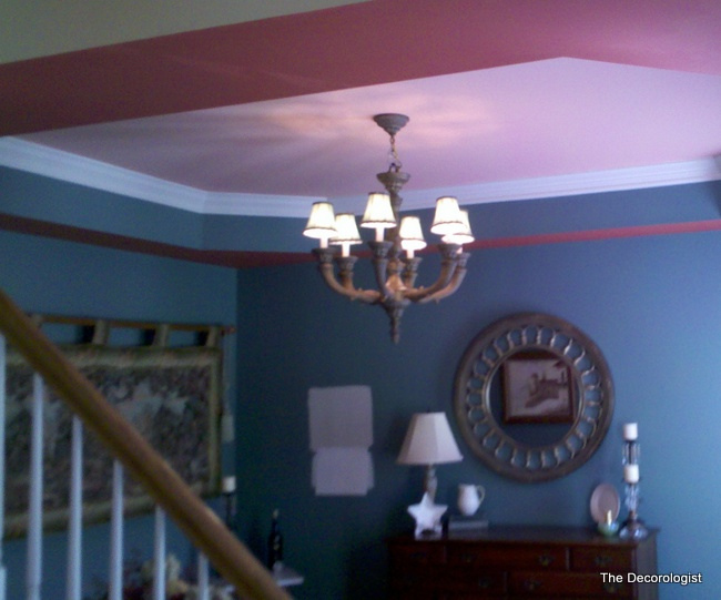 bad tray trey ceiling colors