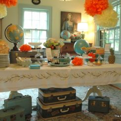 Baby Shower for Heather Spriggs Thompson of Gathering Spriggs Magazine