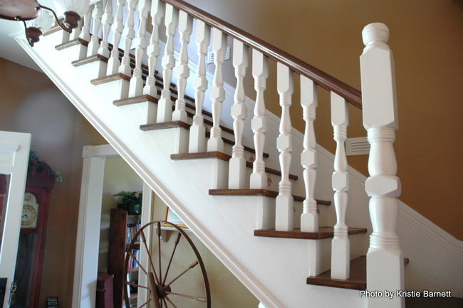 white spindles