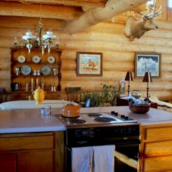 Can A Log Cabin Be Updated?