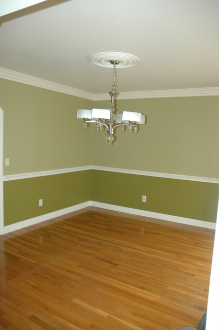 Dining Room Walls With Chair Rail