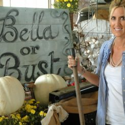 Me at the Flea:  Bella Rustica 2012