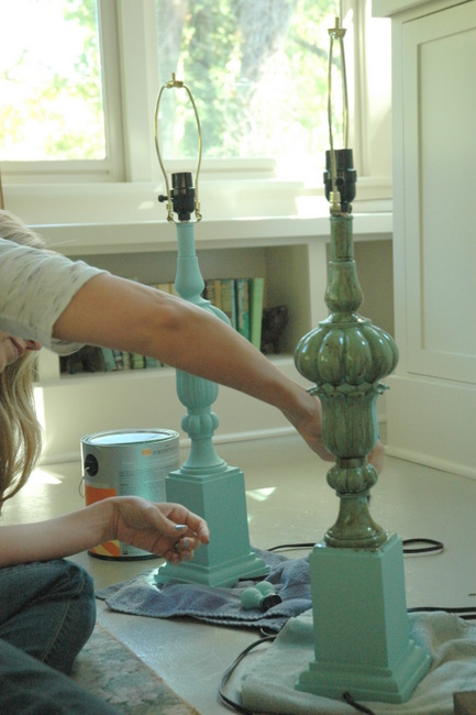 How To Paint Lamps Amp Other Things That Aren T Working For