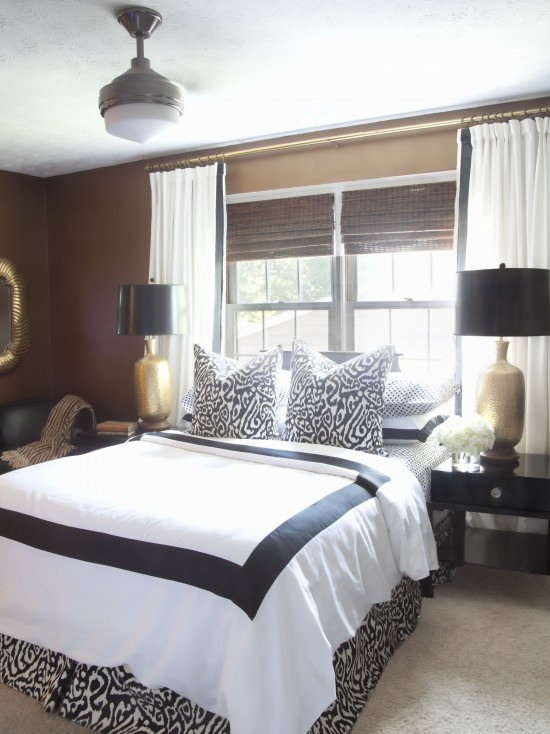Absolutely you can center your bed on a window the decorologist Master bedroom bed against window