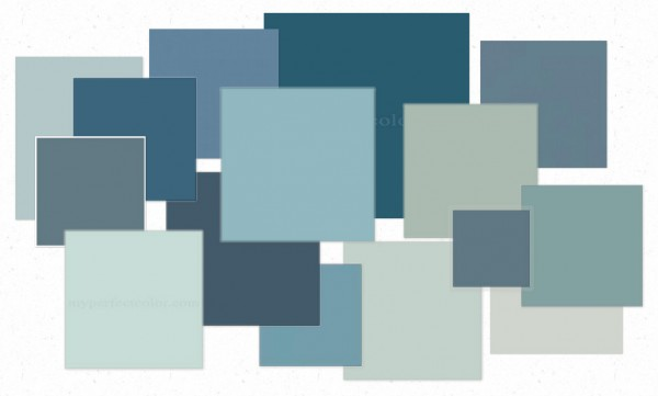 OB-Blues in Color Palettes from 2012