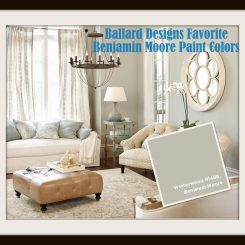 Ballard Designs Favorite Paint Colors