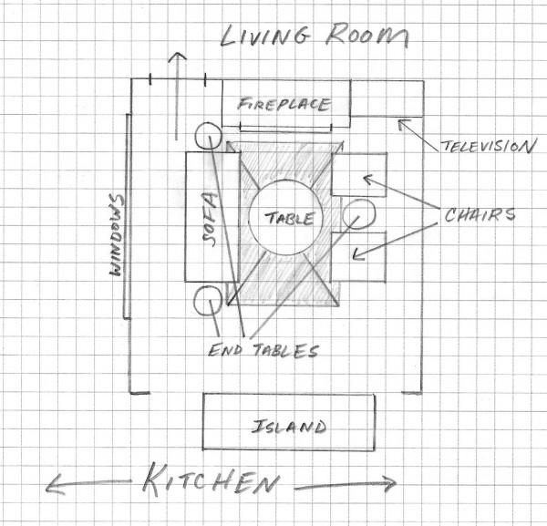 living room furniture floorplan