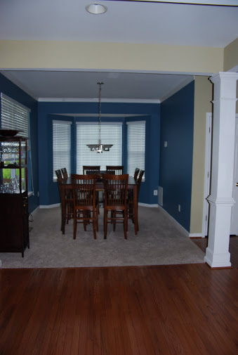 Entry Into Home With Dining Room On Left