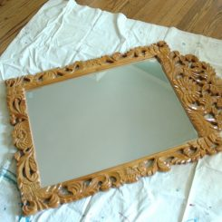 Mirror Makeover with Annie Sloan Chalkpaint