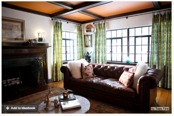 Tudor Revival Interiors how do you paint a tudor style home? - the decorologist