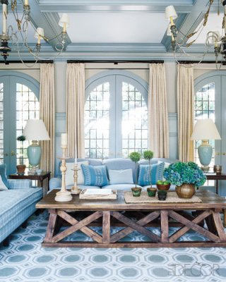 Storybook - elle decor tudor - sunroom