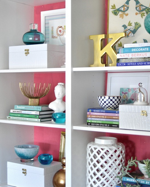 How to Style a Gorgeous Bookcase