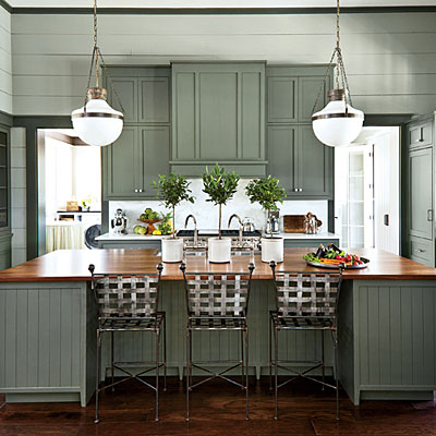 Paint color choices for 2013 southern living idea house for Colour choice for kitchen